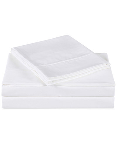 Charisma Luxe Cotton Sateen 510 Thread Count 4-Pc. Solid Queen Sheet Set
