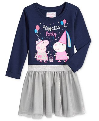 Nickelodeon's Peppa Pig Party Tutu Dress, Little Girls (4-6X)