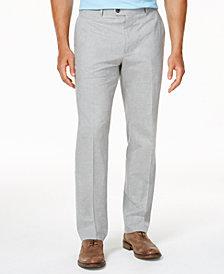 Tasso Elba Men's Classic-Fit Duomo Pants, Created for Macy's