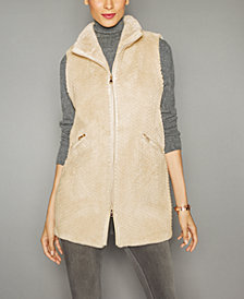 The Fur Vault Sheared Beaver Fur Vest