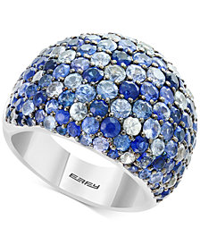 Splash by EFFY® Multicolor Sapphire Statement Ring (5-3/4 ct. t.w.) in Sterling Silver