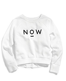 Nowadays Tween Graphic Sweatshirt, Big Girls