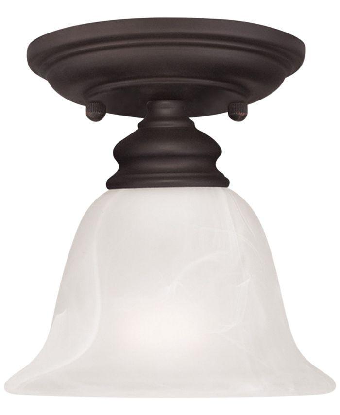 Livex - Essex Semi Flush Light