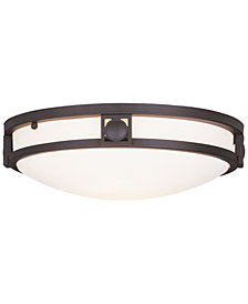 Livex Titania Flush Mount Light