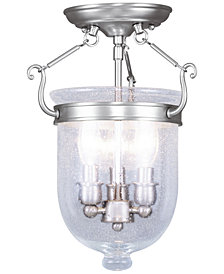 Livex Jefferson Semi Flush Light