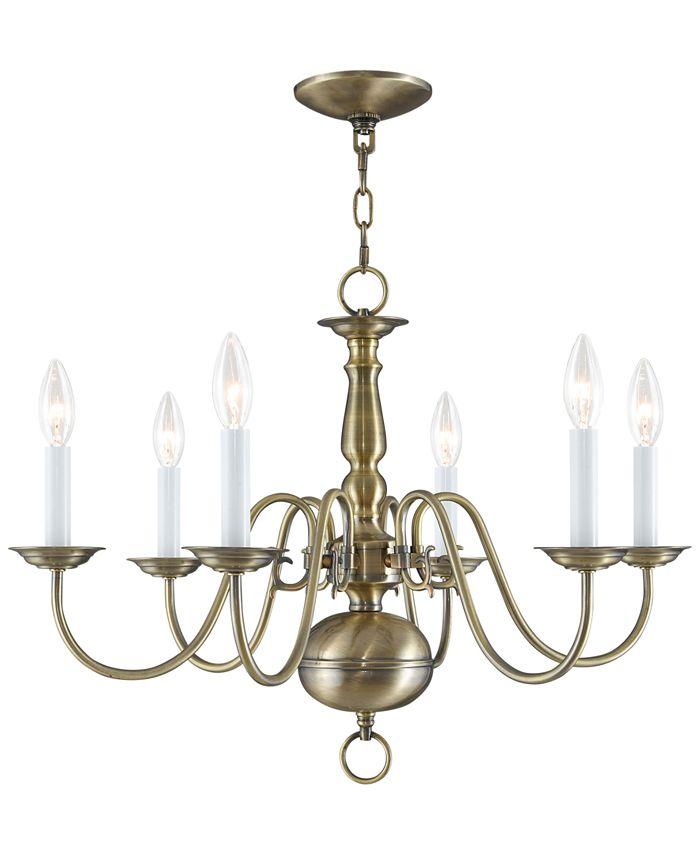 Livex - Williamsburg Chandelier Light