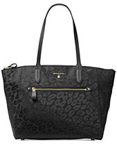 3f1a594aa041f MICHAEL Michael Kors Kelsey Top-Zip Large Tote