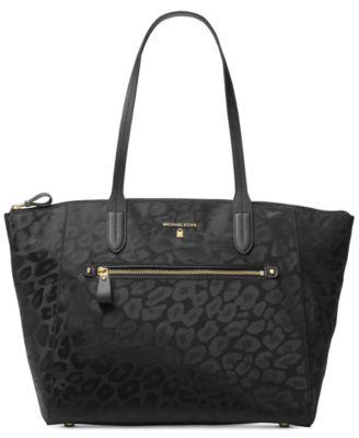 michael kors kelsey top zip large tote handbags accessories macy s rh macys com