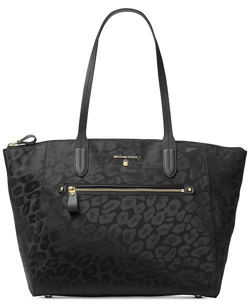 8f392f78e1c6 Michael Kors Kelsey Top-Zip Large Tote. Macy s   Handbags   Accessories