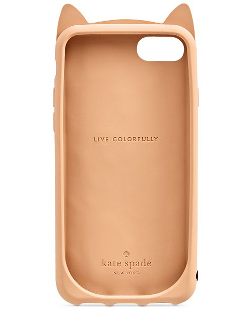 on sale 6f3c4 806ee kate spade new york Cheetah Cat iPhone 7 Case & Reviews - Handbags ...