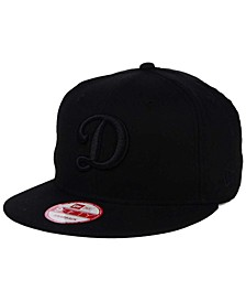 Los Angeles Dodgers Triple Black 9FIFTY Snapback Cap