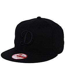 New Era Los Angeles Dodgers Triple Black 9FIFTY Snapback Cap