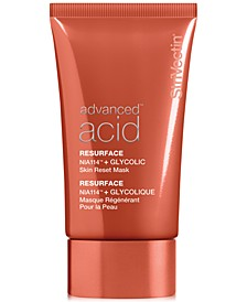Advanced Acid Resurface NIA114 + Glycolic Skin Reset Mask, 1.7-oz.