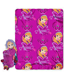 Disney Frozen 3D Hugger Pillow & Throw Set