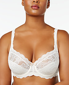 Playtex Love My Curves Beautiful Lace & Lift Plus Size Lace Bra US4825
