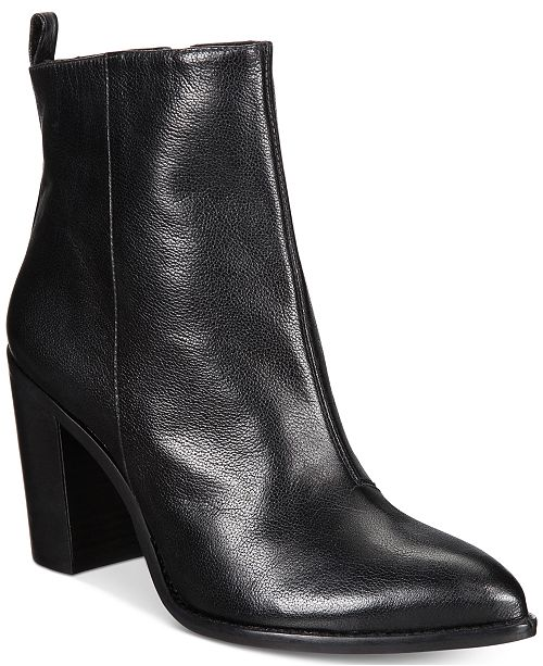 DKNY Leather Ankle Boots 2X5ZyA