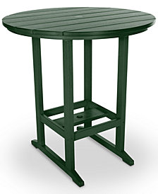 Essentials Outdoor High Dining Table, Quick Ship