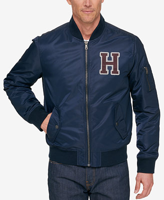 Tommy Hilfiger Men S Aviator Bomber Jacket Coats