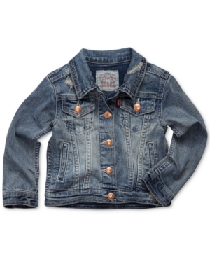 Levis Snap ButtonFront Denim Jacket Little Girls (46X)