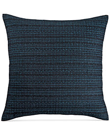 CLOSEOUT! Hotel Collection Modern Wave Cotton European Sham, Created for Macy's