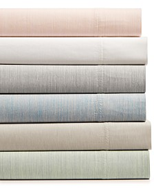 CLOSEOUT! Hotel Collection Cotton 525-Thread Count 4-Pc. Yarn-Dyed Full Sheet Set, Created for Macy's