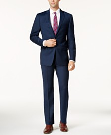 Extra Slim Fit Mens Suits: Blue, Black, Gray - Macy's
