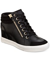c119176961 ALDO Kaia Lace-Up Wedge Sneakers, Created For Macy's