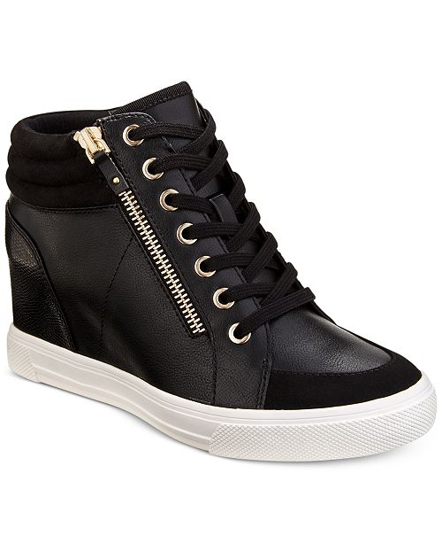 d3ad3fb7a87d ALDO Kaia Lace-Up Wedge Sneakers   Reviews - Athletic Shoes ...