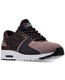 Nike Women's Air Max Zero Premium Running Sneakers from Finish Line