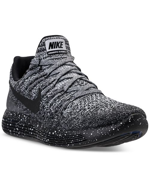 0c49dcfe6efff ... Nike Women s LunarEpic Low Flyknit 2 Running Sneakers from Finish ...