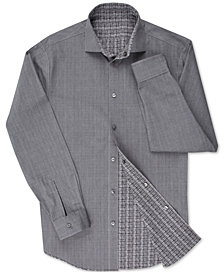 Calvin Klein Men's X Extra-Slim Fit Reversible Dress Shirt