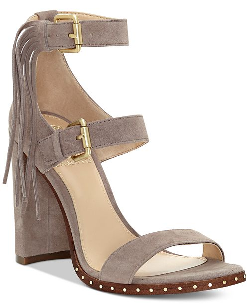 a0f1cd4635 Vince Camuto Jesina Block-Heel Sandals & Reviews - Sandals & Flip ...
