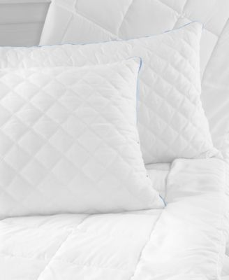 sensorgel quilted gelinfused crushed memory foam pillow collection created for macyu0027s