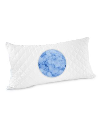 Quilted Gel-Infused Memory Foam Cluster King Pillow, Created for Macy's