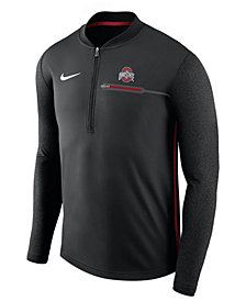 Nike Men's Ohio State Buckeyes Coaches Quarter-Zip Pullover