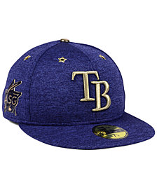 New Era Tampa Bay Rays 2017 All Star Game Patch 59FIFTY Fitted Cap
