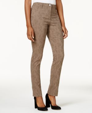 Style & Co Petite Jacquard Jeans, Created for Macy's 4789195