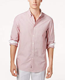Michael Kors Men's Striped Dobby Shirt