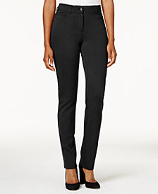 Style & Co Faux-Pocket Slim-Fit Pants, Created for Macy's