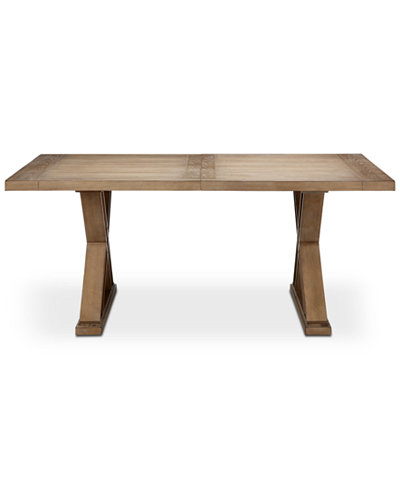 Xavier Rectangle Dining Table, Quick Ship