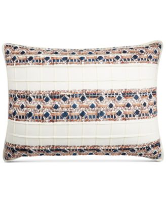 CLOSEOUT! Pleats & Thank You Quilted Standard Sham, Created for Macy's
