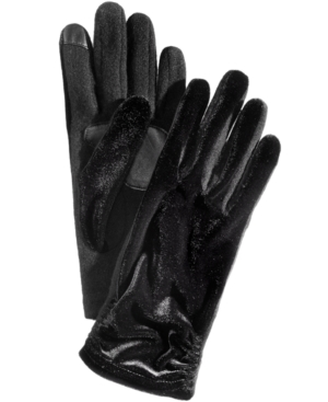 Echo CLASSIC VELVET RUCHED TOUCHSCREEN GLOVES