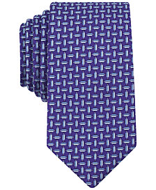 Perry Ellis Men's Fawke Geometric Tie