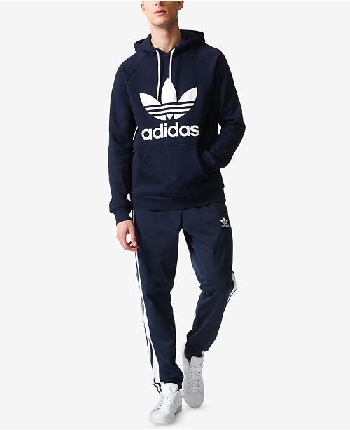 fb21c7cab9 adidas Men s Trefoil Hoodie and Tearaway Pants   Reviews - Men s ...