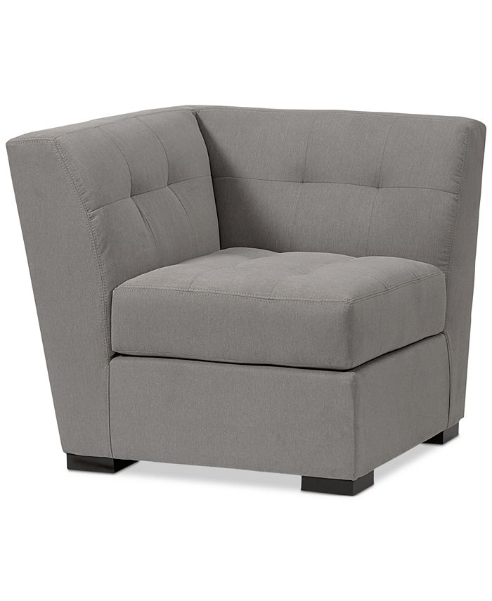 Furniture - Roxanne II- Smart Fabric Modular Corner, Only at Macy's