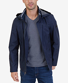 Nautica Men's Waterproof Hooded Jacket