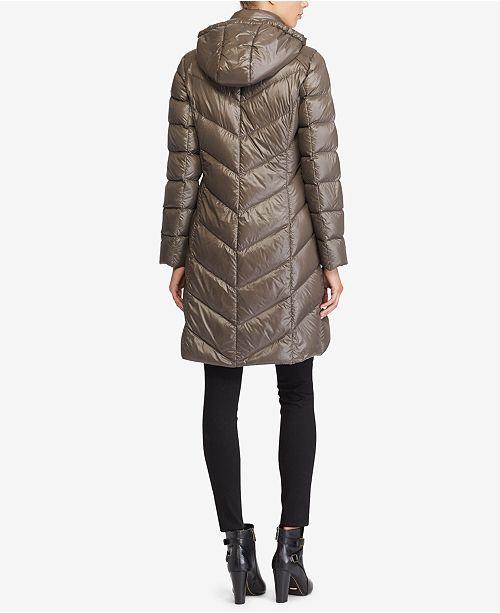 b7abf7a8e Lauren Ralph Lauren Packable Down Jacket & Reviews - Coats - Women ...