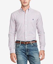 Polo Ralph Lauren Men's Standard-Fit Checked Shirt