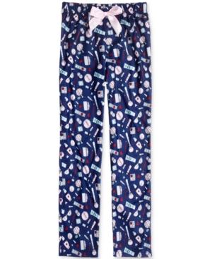 Max  Olivia GlamPrint Sleep Pants Little Girls (46X)  Big Girls (716) Created for Macys