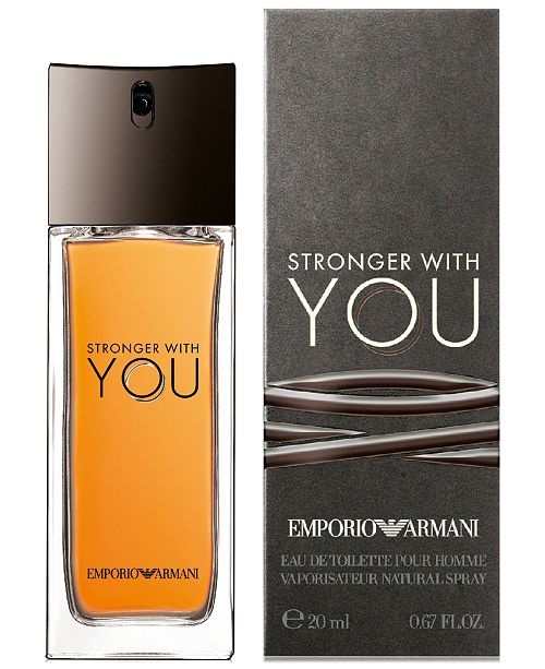 931a1f36990 Emporio Armani Stronger With You Eau de Toilette Travel Spray